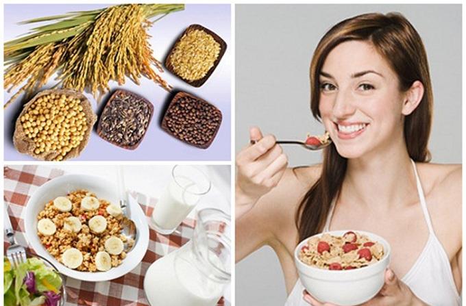 Uống bột ngũ cốc có tăng cân không? Cách uống bột ngũ cốc tăng cân cho người gầy