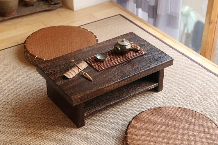 Vì sao bàn trà kiểu Nhật được lựa chọn nhiều như thế?