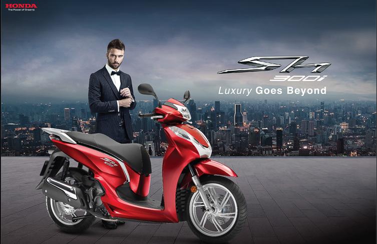 SH 300i Ý – Dòng xe đẳng cấp nhất hiện thời