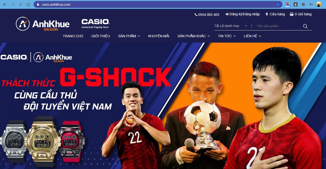 Cách thức mua hàng tại Casio Việt Nam – Những điều bạn chưa biết