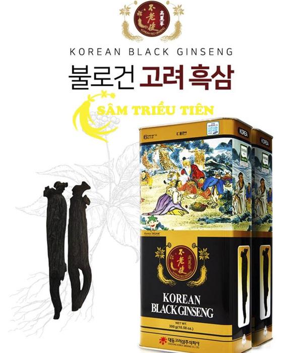 Hướng dẫn sử dụng cao hắc sâm Hàn Quốc hiệu quả nhất